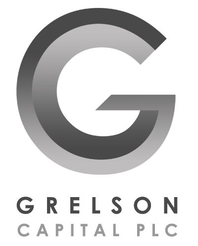 Grelson Capital Plc logo designed by Becky Gray