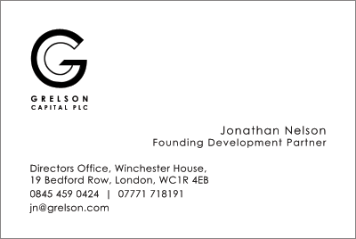 Grelson business cards